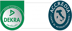 Immagine di Certificazione Dekra ed Accredia